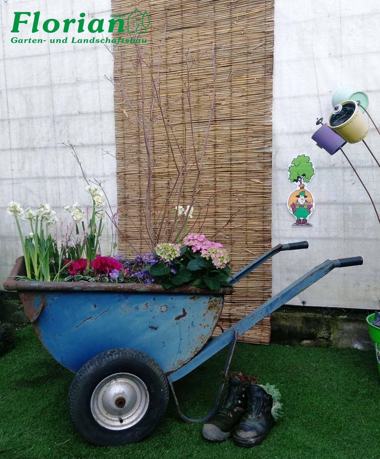 Florian gmbh garten und ladschaftsbau h rth for Pflanzengestaltung garten